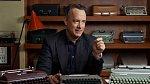 Na tohle je herec vážně pyšný, sbírka psacích strojů.