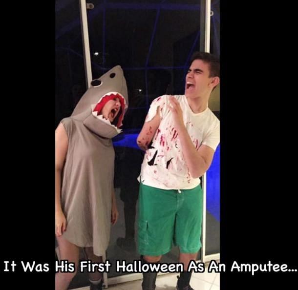 I takto se dá během Halloweenu využít fakt, že jste přišli o ruku.