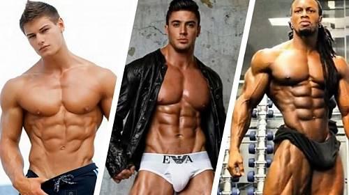 Top 10 mužů s nejkrásnějšími těly na světě. Vybraly byste si?