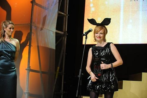 Kiera Chaplin a vítězka v kategorii Style ikona roku - Aňa Geislerová