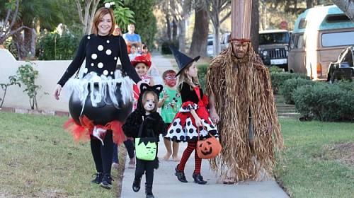 Halloweenská inspirace