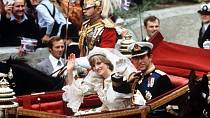 Svadba Diany a prince Charlese v roce 1981