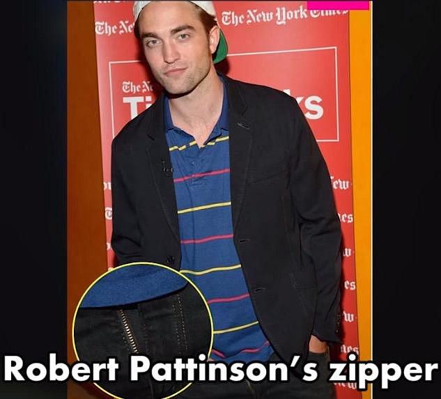 Robert Pattinson podruhé - tentokrát ho potrápil nezapnutý zip