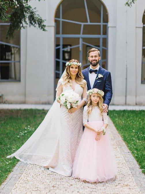 Petra Svoboda se vdávala podruhé.
