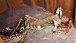 Nedávno fotila zlaté šaty v hotelu Four Seasons.