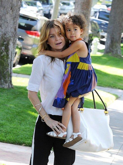 Ellen Pompeo s dcerou