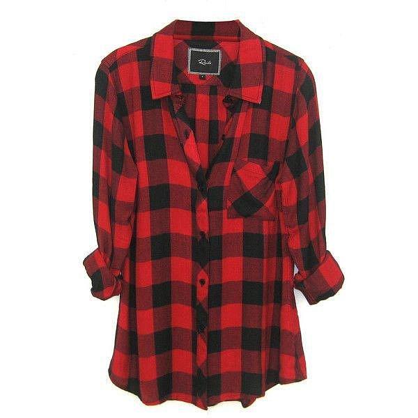 Flanelová košile