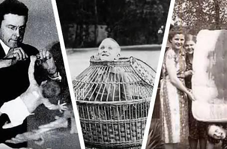 HOROROVÉ HISTORICKÉ FOTOGRAFIE, které někdo zapomněl včas zlikvidovat!