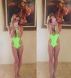 Britney Spears se podařilo konečně zhubnout a tak je na svou postavu náležitě pyšná a své fotky v plavkách vystavuje na sociálních sítích. Tyto plavky schovají nedostatky na bříšku, třeba strie.