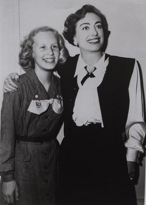 Joan Crawford se svou dcerou Christinou