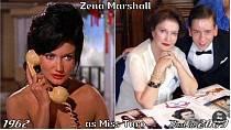 Herečka Zena Marshall coby Miss Taro