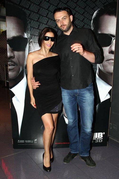 Eva Decastelo s manželem
