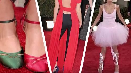 Katastrofy z červeného koberce: U těchto modelů nikdo nepochopil, proč si je celebrity oblékly