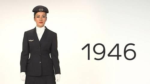 Galerie: 70 let elegance na palubách letadel
