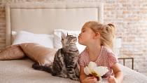 Vznikne-li mezi dítětem a zvířetem důvěra, bude mazlíček dítě chránit a strážit.