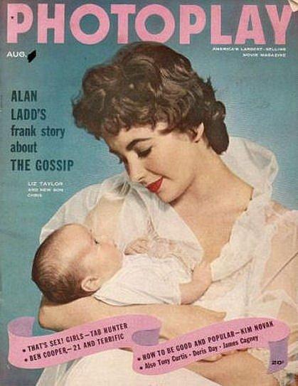 Elizabeth Taylor plnila titulky časopisů.