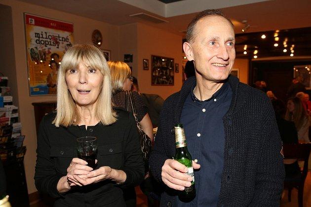 Josef Carda s manželkou Radkou