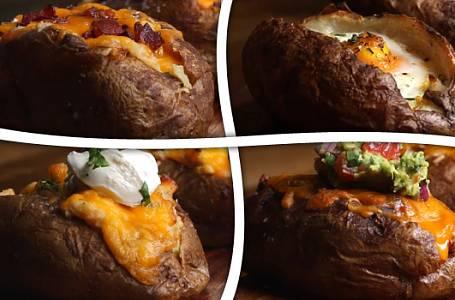 Jak připravit skvělé pečené brambory?
