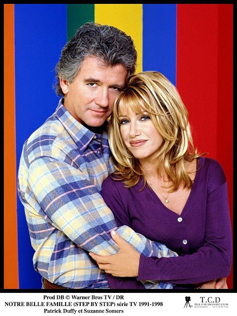 Suzanne Somers se svým seriálovým kolegou Patricke Duffym.