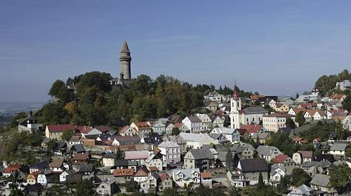 <p>Díky své poloze na svazích kopců dostal Štramberk označení Moravský Betlém</p>