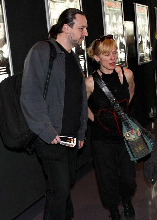 Dana Batulková s přítelem