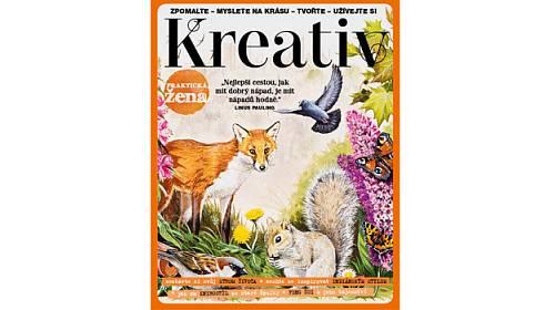 Přijďte nás navštívit ke stánku časopisu Kreativ na veletrhu Tvořivý svět