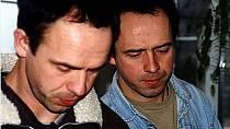 Petr a Matěj Formanovi v roce 2000