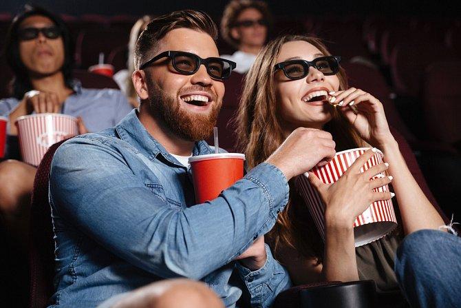 Ke kinu popcorn neodmyslitelně patří.