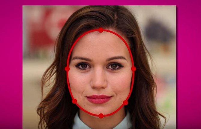 Teď body spojte, vytvoříte tak pomyslný obrys svého obličeje a budete tak moci odhalit jeho tvar.