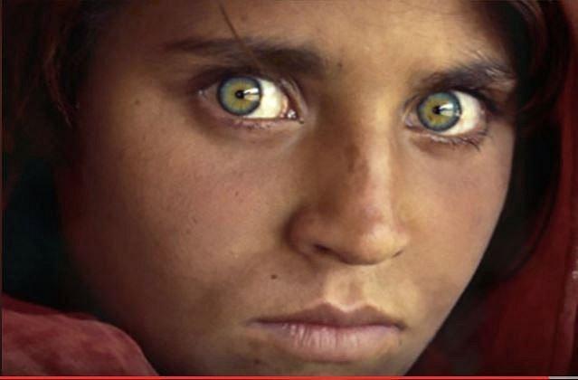 V arabských zemích je zelená barva očí také velmi ceněná