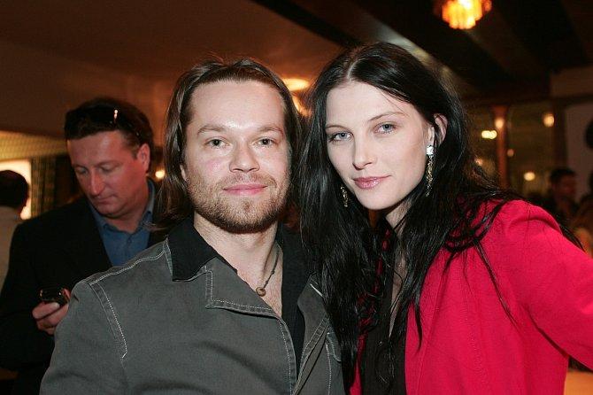 Iva Frühlingová s prvním manželem Richardem Krajčem
