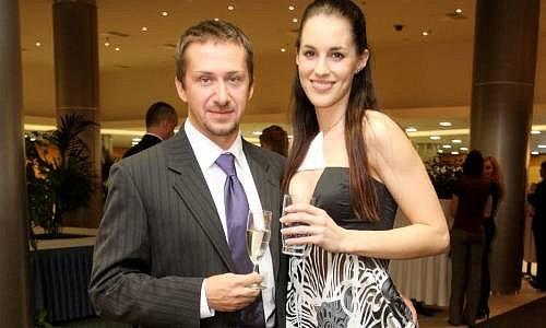 Lucie Váchová s manželem Davidem