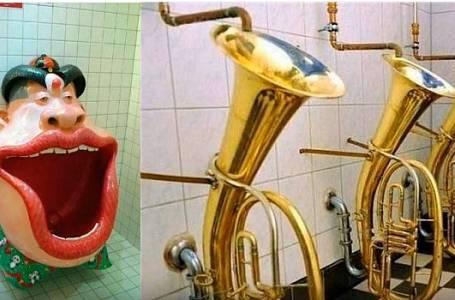 Nejvtipnější toalety světa
