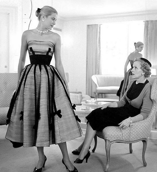 Grace Kelly s matkou