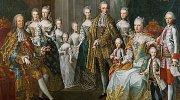 Marie Terezie s chotěm Františkem a dětmi