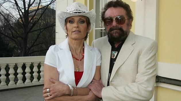 Olga Matušková s manželem