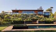 Dům v Beverly Hills, kde žije Jennifer Aniston.