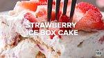 6 skvělých nepečených dezertů: Sušenkovo-jahodový nepečený dort