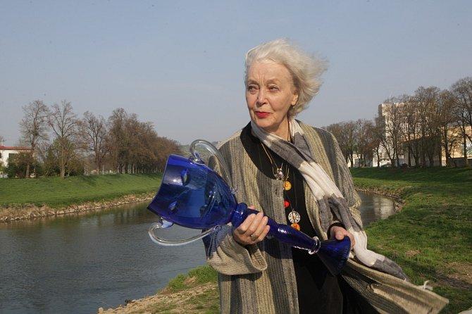 Květa Fialová získala cenu Thalie.