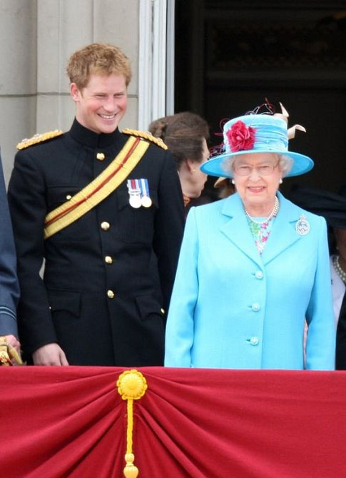 Harry s královnou