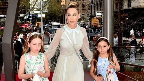 Sarah Jessica Parker se svými dcerami