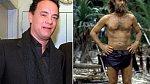 Tom Hanks si zahrál Chucka Nolanda ve filmu Trosečník