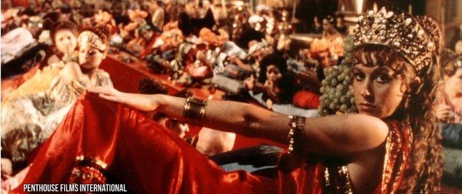 Helen použila tento film jako příležitost mluvit o tom, jak moc se změnil filmový průmysl. Americko-italský Caligula byl nejprve promítán jen v porno kinech. Nyní je k mání jen ve velmi sestříhané verzi. Pokud byste hledali další film...