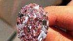 Prsten Pink Star