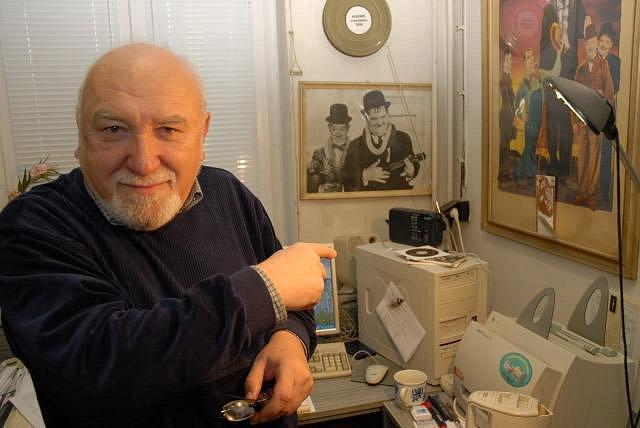 Karel Čáslavský, český filmový historik