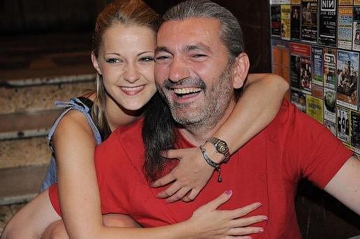 S bývalou partnerkou Šárkou Vaňkovou