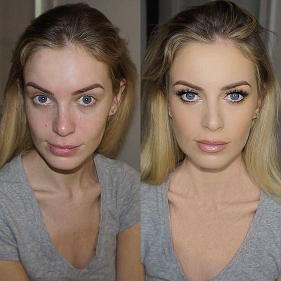 Make-up má opravdu kouzelnou moc.
