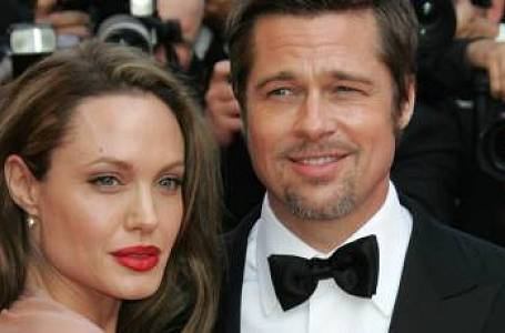 Brad Pitt, Jennifer Aniston, Angelina Jolie