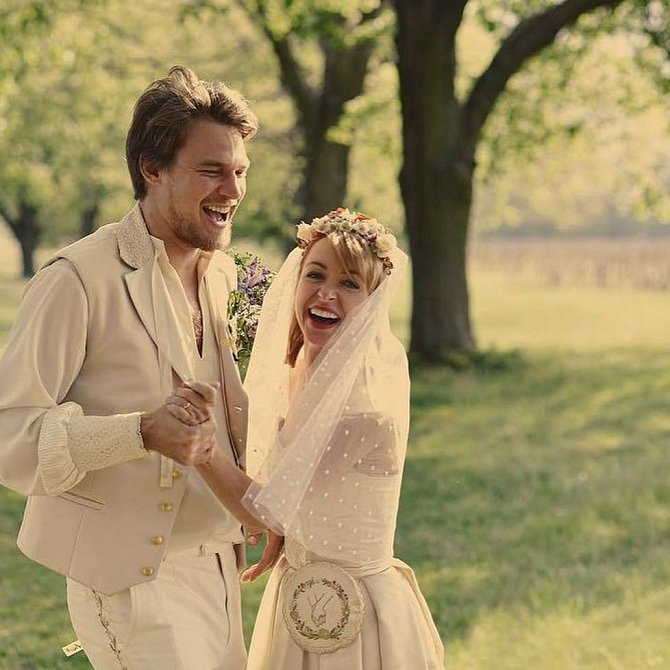 Manželé Dykovi nedbali pověr a vzali se na prvního máje.