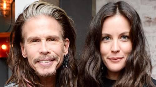 Steven Tyler s nemanželskou dcerou Liv Tyler